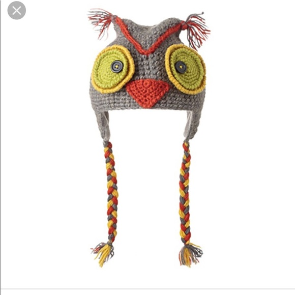 1568b018a36 NWT Knitwits wool owl hat for kids